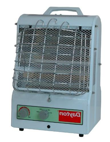 1500/900/600W Electric Space Heater, Fan Forced/Radiant, 120