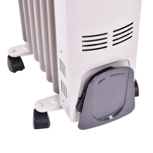 1500 W Filled Space Heater Adjustable