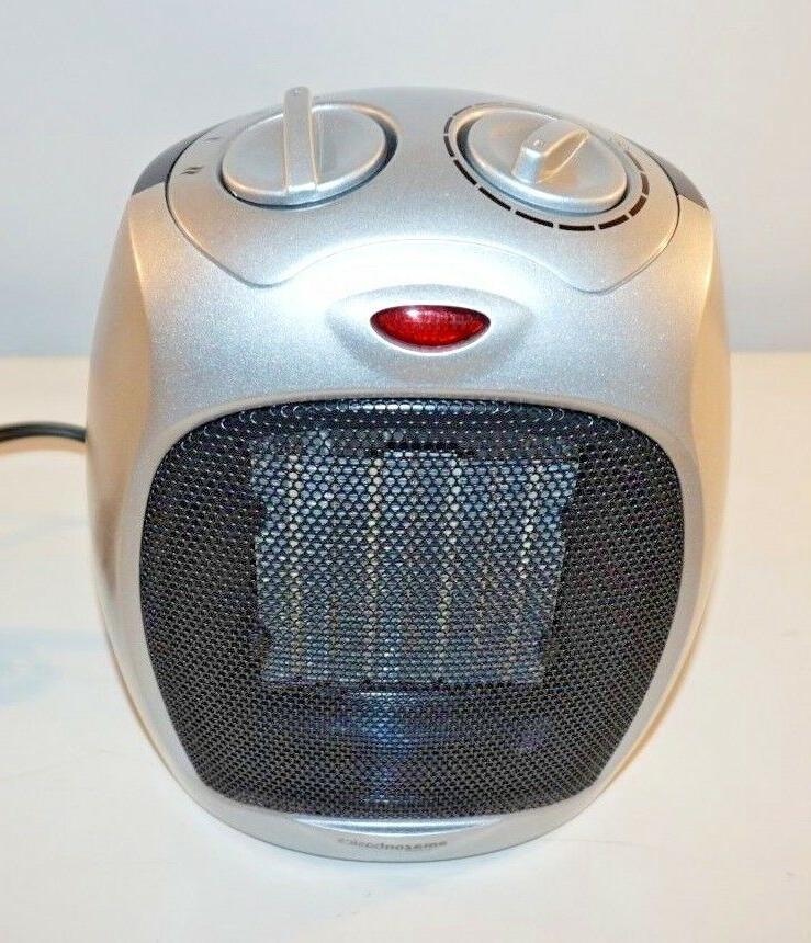 AmazonBasics 1500 Watt Ceramic Space Heater with Adjustable