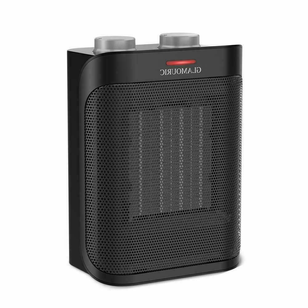 1500 watt ceramic space heater with overheat