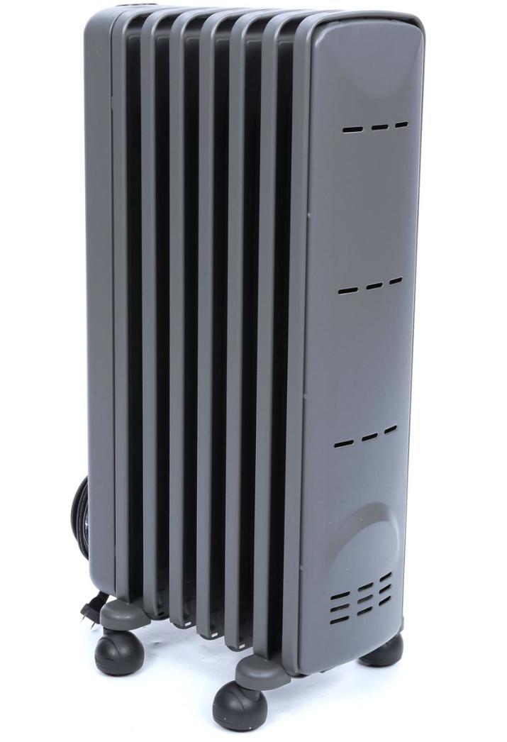 DeLonghi 1500-Watt Electric Space Heater thermostat Room