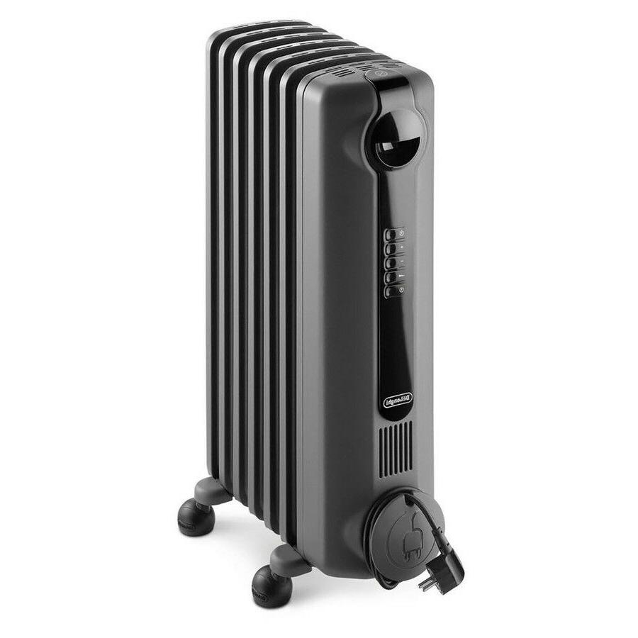 DeLonghi Oil-Filled Electric Space Heater with Thermostat En