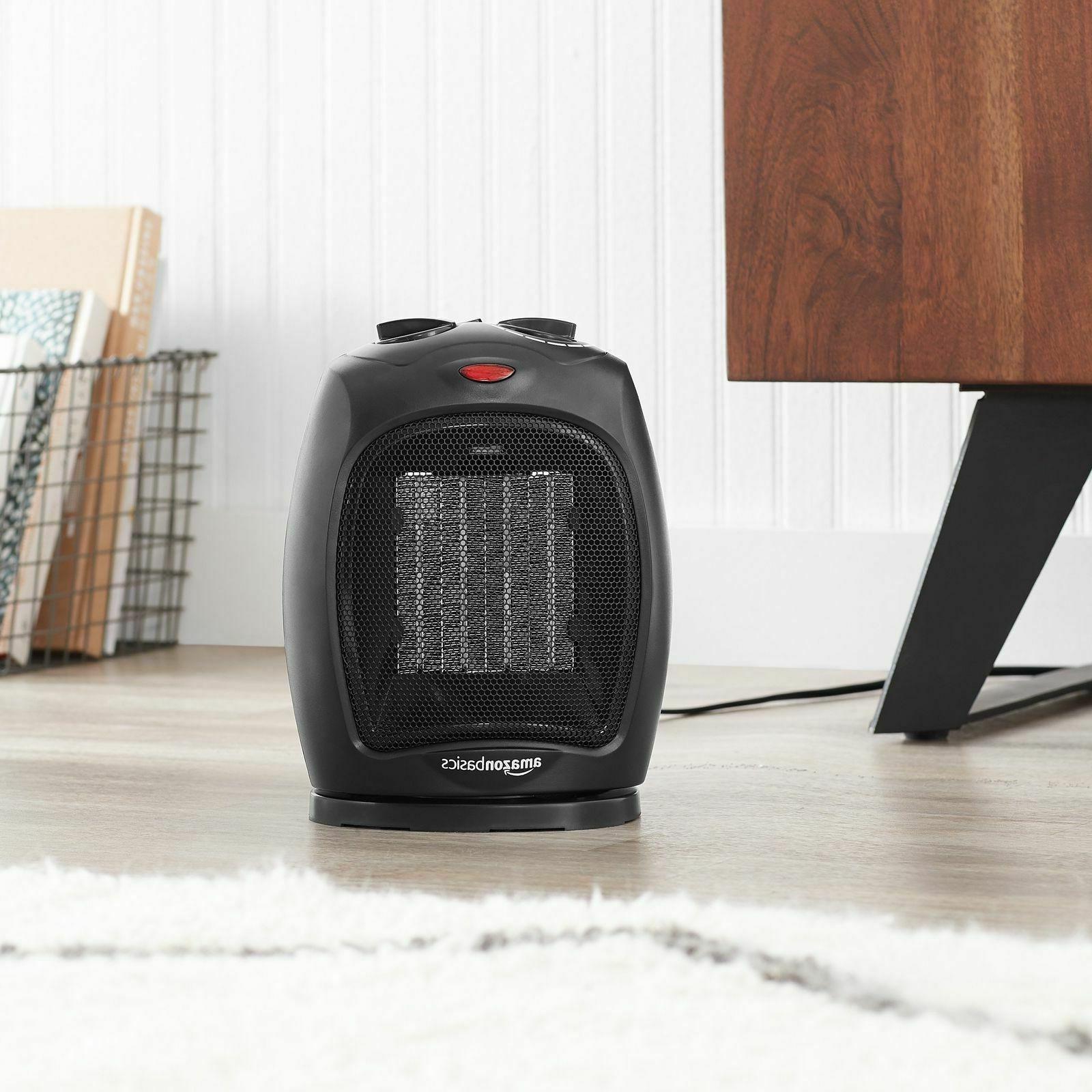 AmazonBasics Ceramic Adjustable Thermostat