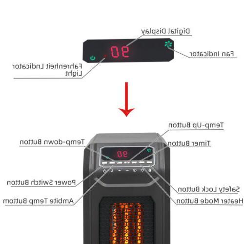 1500W Quartz Heater with
