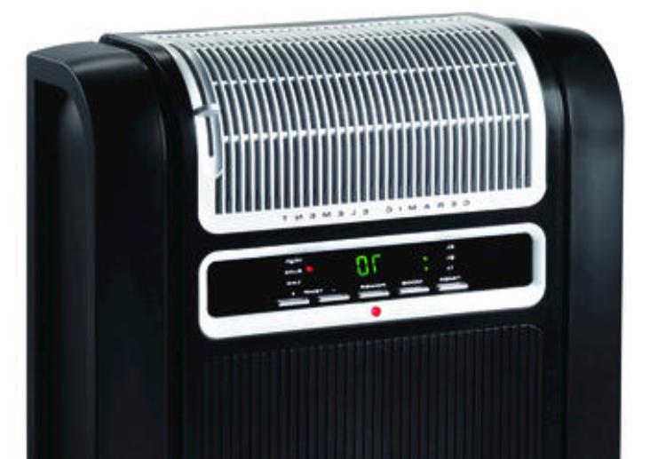 Lasko 758000 Cyclonic Ceramic Heater AKG758000 Heating, Cooling ...