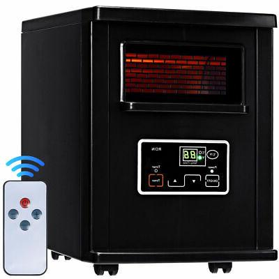 1500w electric portable infrared quartz space heater