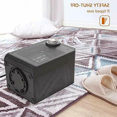 1500W Electric Portable Infrared Quiet w/ Control