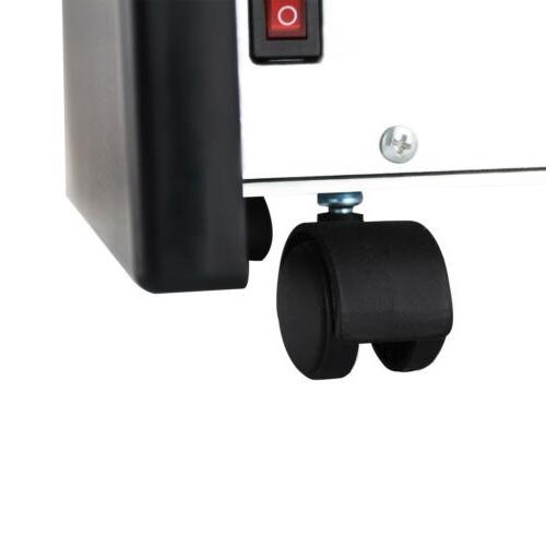 SUNCOO 1500W Electric Space Heater Infrared W/Remote Control