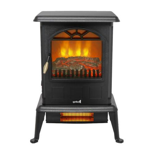 1500W Portable Electric Fireplace Space Heater