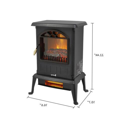 1500W Fireplace Space Stove Home