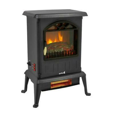 1500W Electric Fireplace Space Heater Log Stove Home