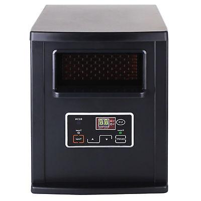 Infrared Quartz Control Portable Black