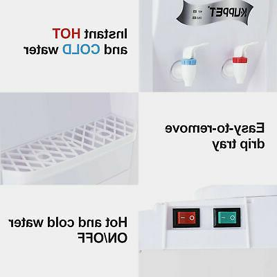 5 Electric Dispenser Top Loading Cooler Hot Cold Home/Office