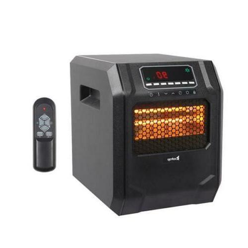 Portable1500W Remote Control Electric Digital Quartz Infrare
