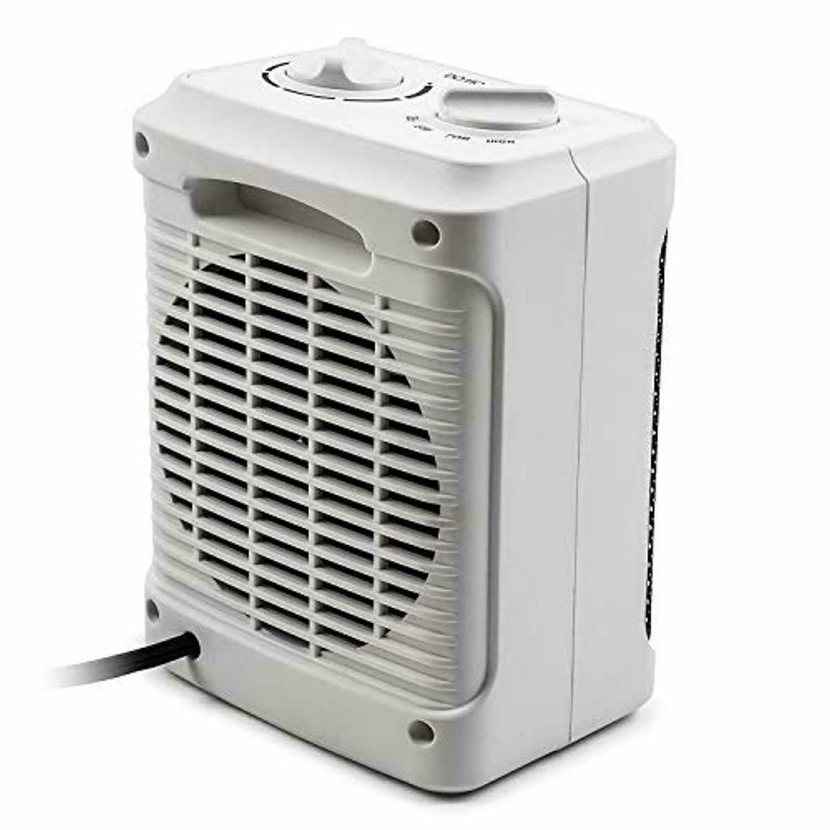 1500W Ceramic Space Heater with Operating Modes and Adjustable Thermostat