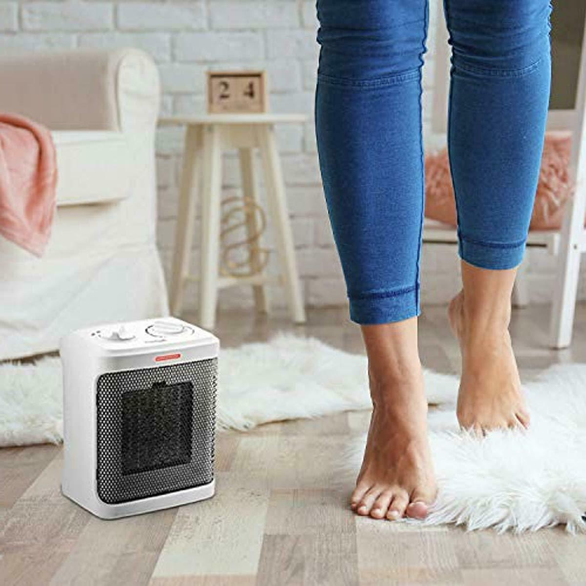 1500W Ceramic Heater with Modes and