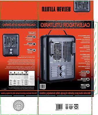 1500W PORTABLE HEATER Fan Forced Space Heating