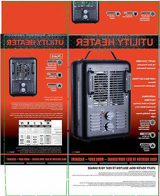 1500W PORTABLE HEATER Forced Space