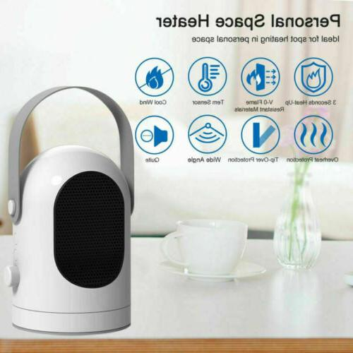 Portable Air Heater House Room Office Warmer Mini Heater US