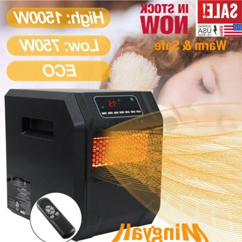 1500w quartz space heater infrared electric heater