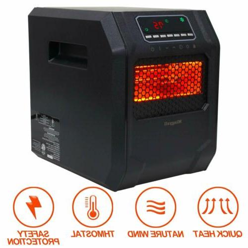Mingyall Quartz Space Heater Infrared LED
