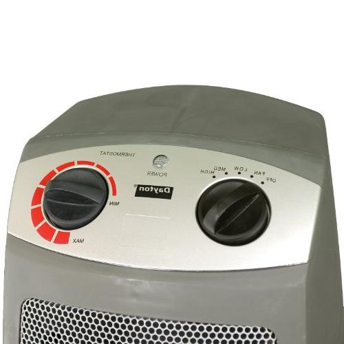 Dayton 1VNW9 Space Heater With Features