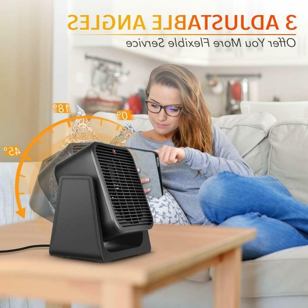 2 Heater Ceramic Electric Personal Fast