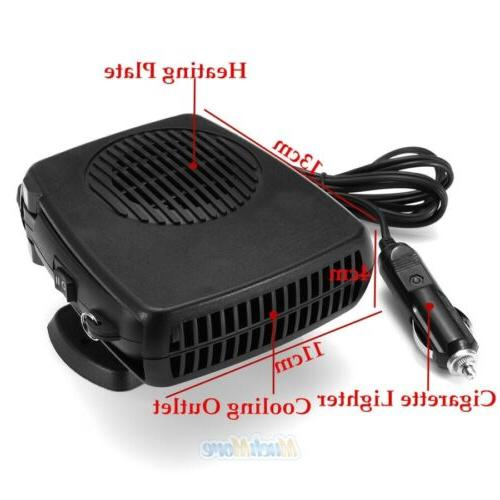 2 Heating Heater Defroster DC12V NEW