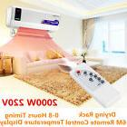 2000W Home Electric Wall Mounted Heater Household Space Heat