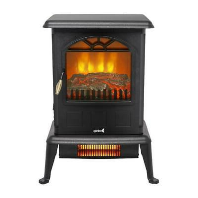 """ZOKOP 22"""" Electric Thermostat Stove Infrared Fireplace Quart"""