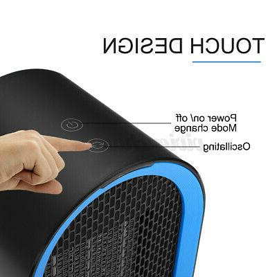 220V 600W Oscillation Electric Space Heater Warmer Home Gift