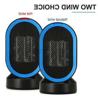 220V 600W Oscillation Electric Fan Warmer Home Office