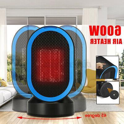 220v 600w oscillation ceramic electric space heater