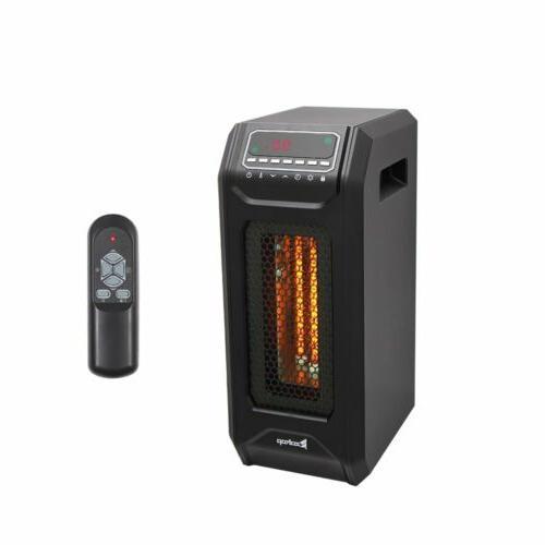 1500W Electric Infrared Quartz Heater 3-Element Space Heater