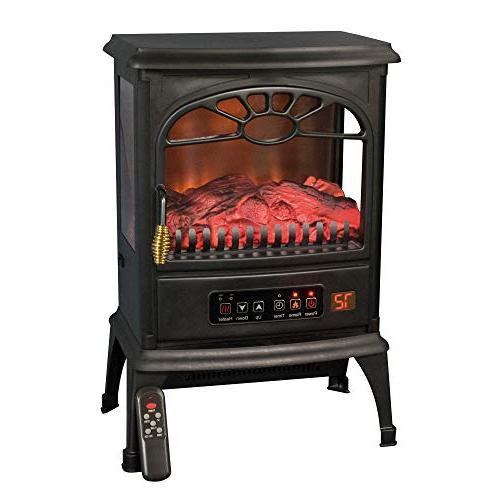 LifeSmart 3-Sided Stove Heater