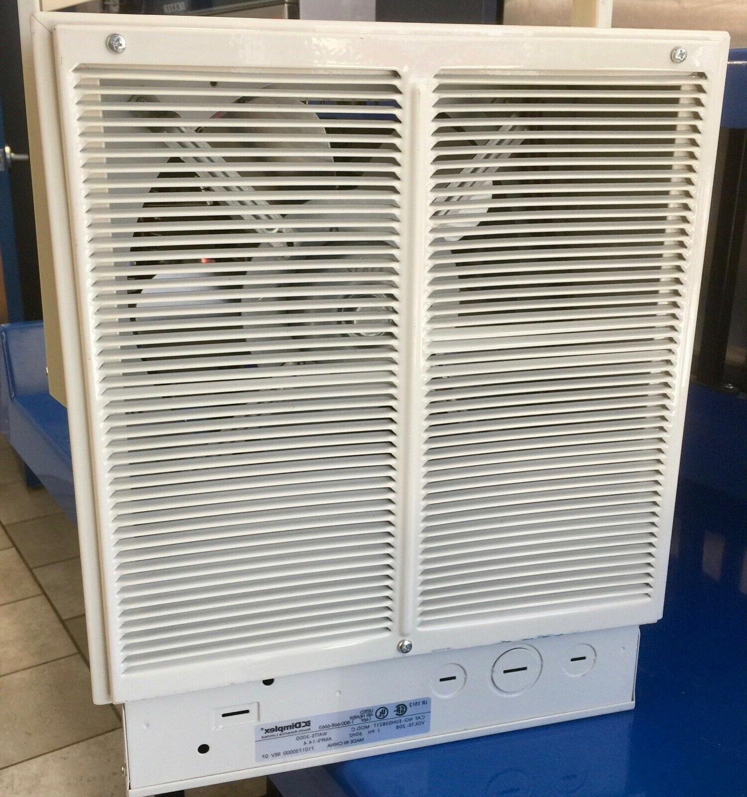 Dimplex 3000w, 208V, Ph, Industrial Space EUHO3B21T, $350 New