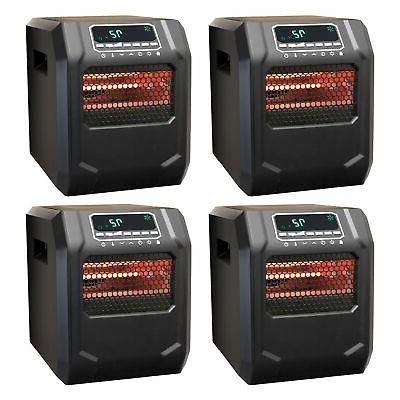 Lifesmart 4-Element Quartz Infrared Electric Large Room Spac