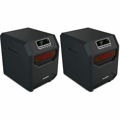 Lifesmart 4-Element Quartz Infrared Portable Electric Room H