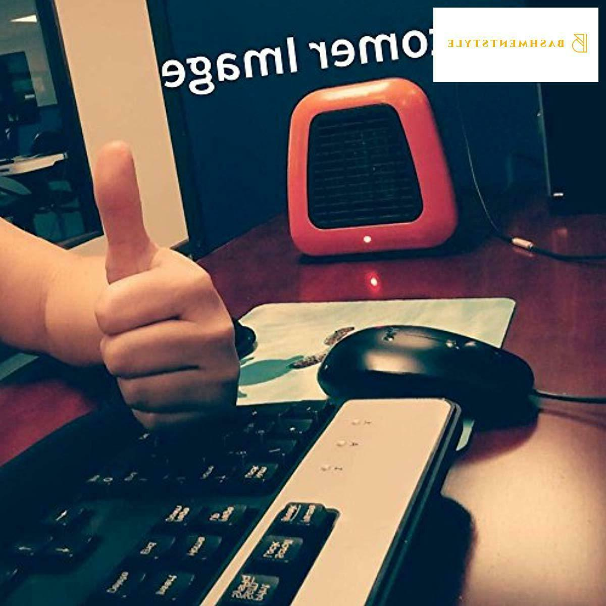 400-Watt Heater Ceramic Heater for Office Desktop