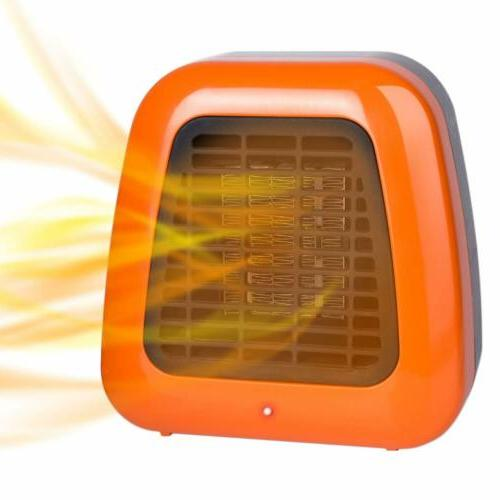 400w Energy Efficient Small Electric Space Heater Portable
