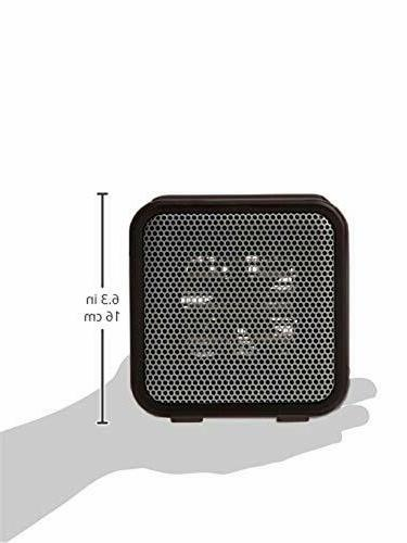 Black Ceramic Small Space Mini Heater