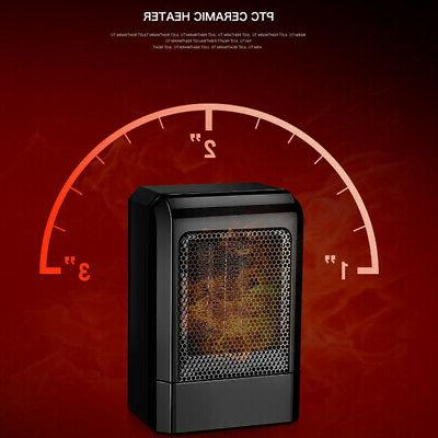 500W Mini Heater Home Heating Portable Fan Silent