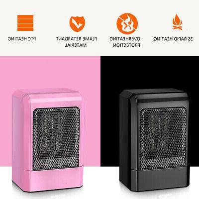 500W Mini Ceramic Heater Office Space Heating Fan