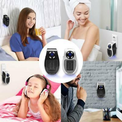 Durable Plug-in Wall-Outlet LCD Space