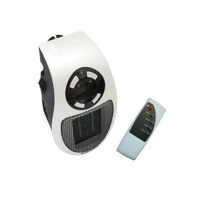 500W Heater Portable Durable Heater Home Wall-Outlet LCD Space