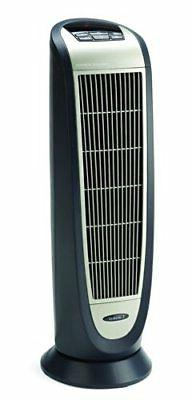 Lasko 5160 Space Heater - Ceramic - Electric - Gray, Silver