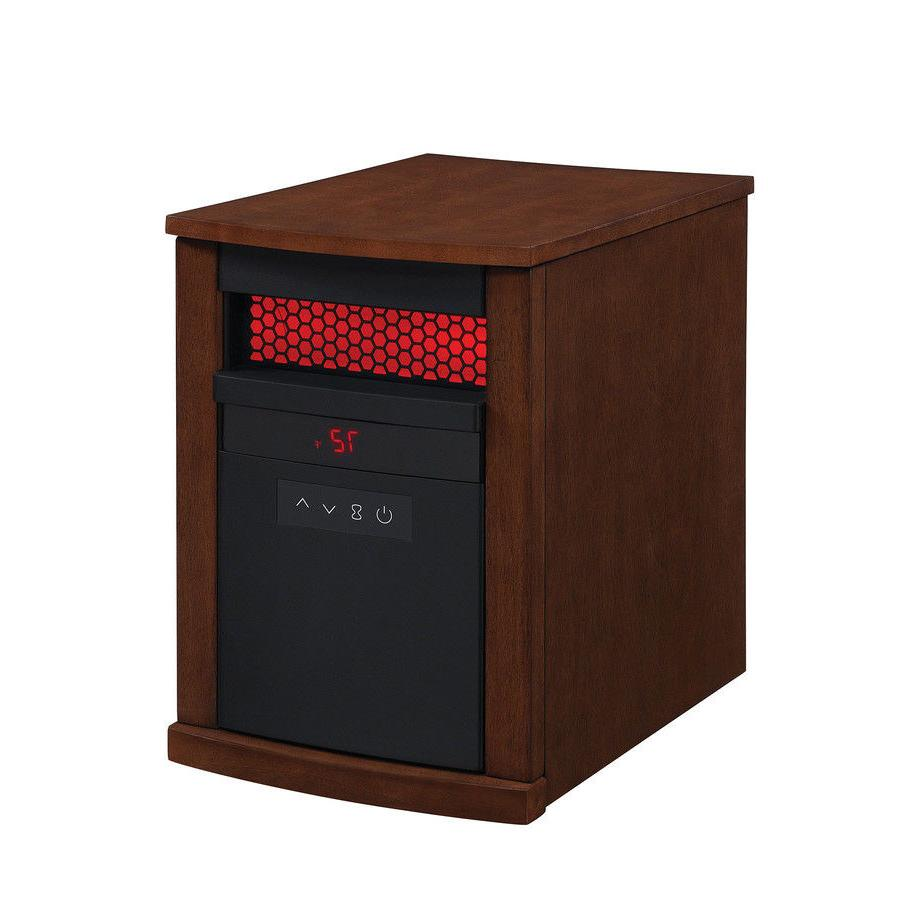 Duraflame 5200-BTU Infrared Quartz Cabinet Electric Space He
