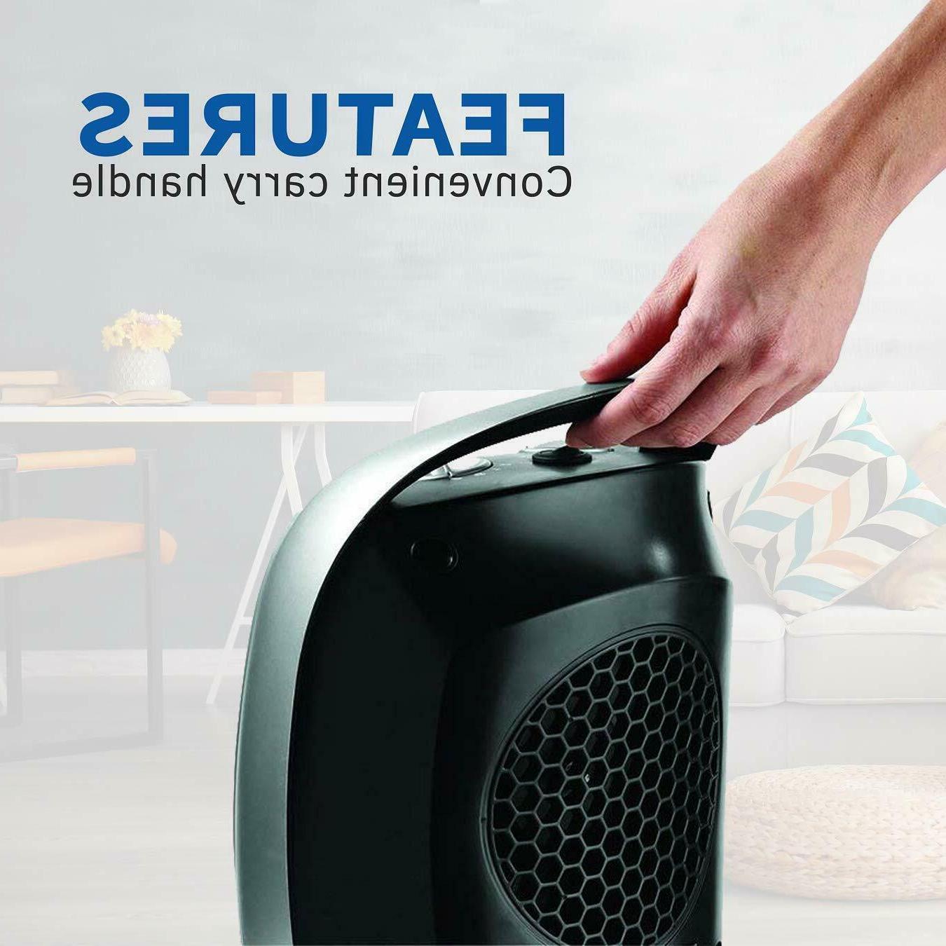 Lasko Space Heater Warm For tabletop 1500W