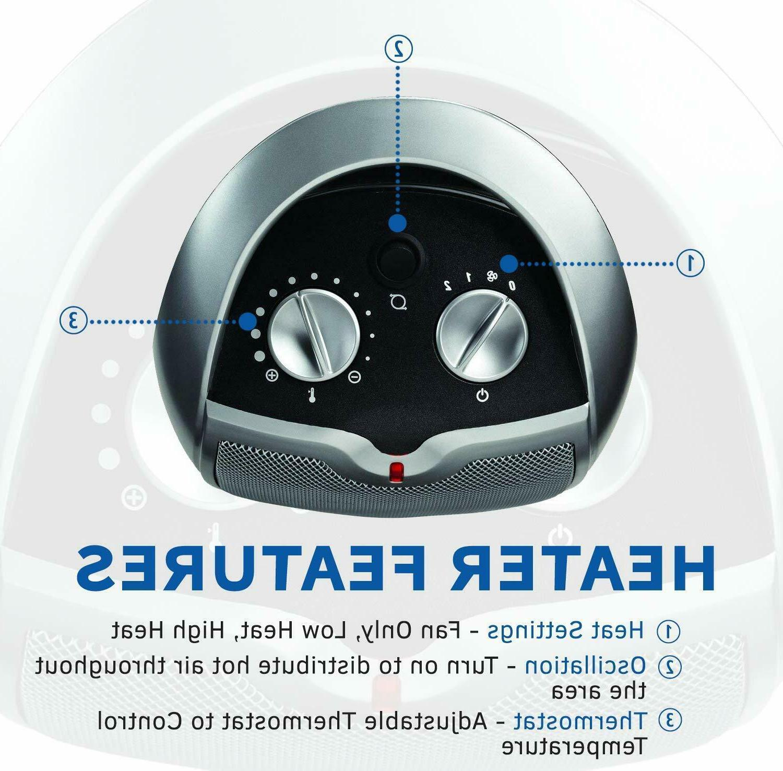 Lasko 5409 Ceramic Portable Space Heater For or 1500W