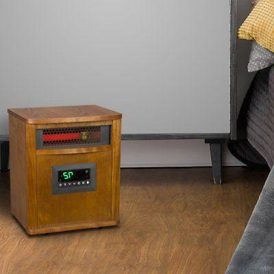 Lifesmart 6 Portable Infrared Electric Space Heater